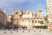 Catedral de Sevilla, donde se considera pudieran estar los restos del Almirante.