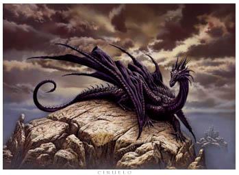 Dragón, del artista Ciruelo Cabral...