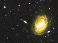 Una imagen obtenida por el telescopio espacial Hubble (Nasa/Esa)